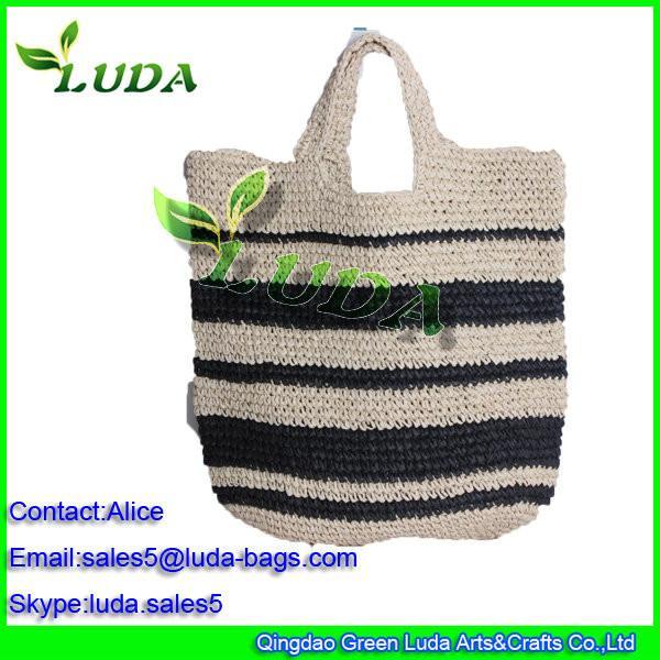 Weekend Bag Gift Handbag Colorful Crochet Tote Bag Of Item