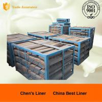 Wholesale Custom Mill Liners Pearlitic Cr-Mo Steel End Liners Dia 4m Hardness More than HRC33-43 from china suppliers