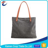 Wholesale Personalised Design Fabric Shopping Bags / Big Shopper Bag Canvas Material from china suppliers