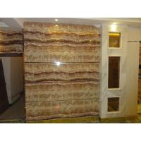 UV coating mable textured waterproof bathroom wall covering panels wainscot panels Sliding
