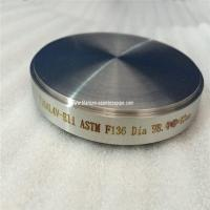 Wholesale high quality ASTM F136 titanium target for dental, titannium dental round rod target dia98.4mm,dental titanium target  from china suppliers