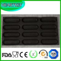 Wholesale Wholesale High Quality Heat Resistant 8 Rounds Fiberglass Silicone Bread Baking Mould/Silicone Bun from china suppliers