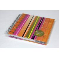 Wholesale CMYK Full Color Custom Spiral Notebook Printing Service With Elastic Binding from china suppliers