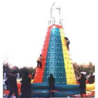 Wholesale Funny Exciting PVC Inflatable School Rock Climbing Wall , 6 Meter from china suppliers