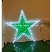 Wholesale large outdoor christmas star light from china suppliers