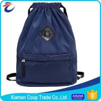 Wholesale Customized Logo Coloured Drawstring Bags Nylon Material 42x15x45 Cm Size from china suppliers