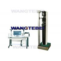 Single Pole Digital Electronic Tensile Testing Machine For PVC Materials