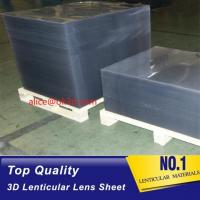 Wholesale 16lpi -161lpi lenticular sheet for 3d and flip lenticular effect printed by UV offset print by injekt print from china suppliers
