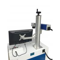 Wholesale Industrial Laser Marking Equipment , 5W UV Fiber Laser Etching Machine from china suppliers