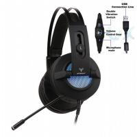 Wholesale RGB LED light virtual reality stereo headset gaming 7 dot 1 Game Headphones head phones headphone from china suppliers
