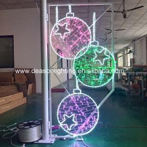 Wholesale christmas street pole motif light decorations from china suppliers