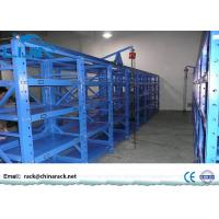 Buy cheap 3 Drawers Mold Storage Racks With Powder Coated Finish Blue Color Easy To from wholesalers