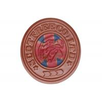 Wholesale Colorful Custom Embossed Leather Patches For Hats / Bag Light Weight from china suppliers