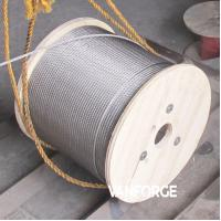 Wholesale 7x19 Construction Stainless Steel Wire Rope Pressure Resistance Extremely Flexible from china suppliers