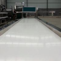 Wholesale White Food Grade Adjustable Roller Conveyor Customized Size With Rubber Belt from china suppliers