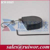 RW0805 Cable Retractor | Pull Lanyard Protector,display security retractable pull box