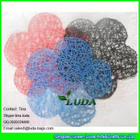 8c8dce916f ... Quality LUDA wholesale promotion tabel mat manhandmade paper straw  placemat flower hot for sale ...