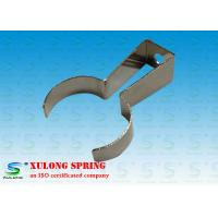Wholesale Fexible Automotive Custom Flat Springs / Flat Metal Spring Clips Nickel Coated from china suppliers