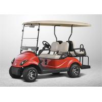 Wholesale High End Electrical Golf Carts With 4 Seater , Club Car Golf Carts with LED Lights from china suppliers