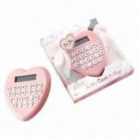 Calculator For Wedding Gift : ... Heart-shaped Calculator, Good as Wedding Gift and Velentines Day Gift
