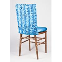 Wholesale Water Wave Style Half Wedding Banquet Chair Covers Plain Dyed Pattern from china suppliers