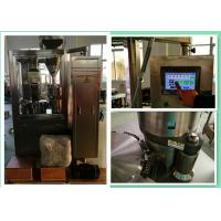 China Small VibrationFully Automatic Empty Capsule Filling Machine For Powder Pellet on sale