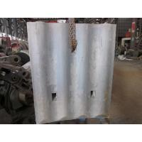 China High Cr White Iron Mill Liners D-12-D Coal Mill Hardness HRC58 - HRC61 After Shot Blasting wholesale