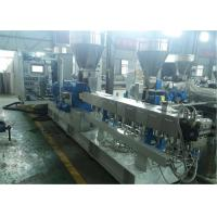 High Efficiency Twin Screw Extrusion Line , PP EVA PA Plastic Extrusion Equipment