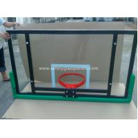 Wholesale Adjustable Laminated Glass Basketball Backboard 8mm / 10mm / 12mm from china suppliers
