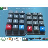 Wholesale Eco Friendly Waterproof Custom Silicone  Rubber Keypad  With Carbon Pill from china suppliers