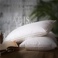 Wholesale 80% Goose Down Hotel Comfort Pillows Double Stitching With Piping Edge from china suppliers