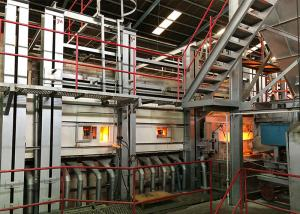 Wholesale Automatic ISO9001 Gas End Fired Glass Melting Furnace from china suppliers