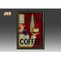 Wholesale Antique Home Wall Decor Decorative Wall Plaques Coffee Shop Wall Art Signs from china suppliers
