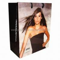Wholesale Paper Gift Bag, Made of Art Paper, with Full Color Printing from china suppliers