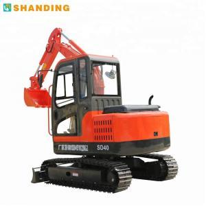 Wholesale SD40B Mini Hydraulic Crawler Excavator / Quick SHANDING Micro Excavator from china suppliers