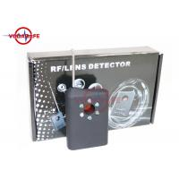 Wholesale Wireless Pinhole Camera Lens Detector Anti Spy Device Current Consumption 8mA from china suppliers
