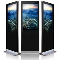 Wholesale Tempered Glass 47 Inch 4G RAM Interactive Touch Screen Kiosk from china suppliers