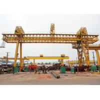 Wholesale Truss Double Girder Gantry Crane Industrial A Frame Rubber Tired Electric Motors Driving from china suppliers