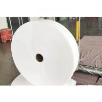 Wholesale Anti - Bacteria Recycled Spunlace Non Woven Fabric / Cloth 35g - 70g Weight from china suppliers