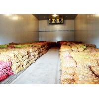 Buy cheap Vegetable Or Fruit Cold Storage Room With 43kg / m³ Insulation PU Panel from wholesalers