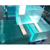 China Curve  10MM  Durable Csi Custom Tempered Safety Glass Low Visible Distortion wholesale