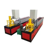 Buy cheap Steel Door Frame Cold Roll Forming Machine Production Line from wholesalers