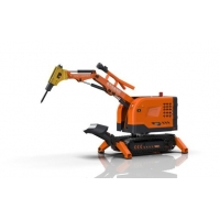 Buy cheap Fire Rescue Remote Controlled 100m Robotic Demolition Machine from wholesalers