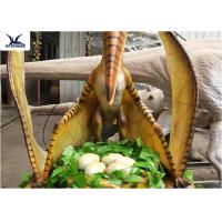 Wholesale Jurassic World Playground Life Size Animatronic Robotic Dinosaur Realistic Model from china suppliers
