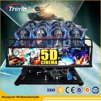 Wholesale Children Entertainment Equipment Mobile 5D Cinema With Special Effects 220 V from china suppliers