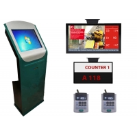 Wholesale Bank IR Touch Panel Electronic Wireless EQMS Queue Management System from china suppliers