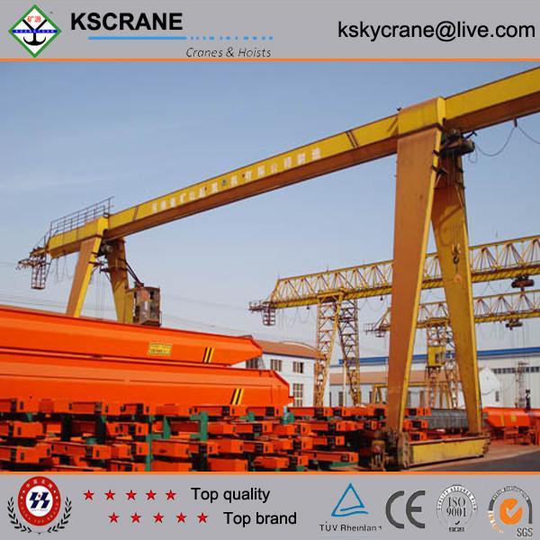 Used gantry cranes : Widely used t single girder portable gantry crane of item