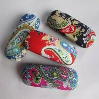 China Hot selling fabric printed glasses cases wholesale