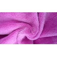Wholesale Adult Or Baby Blanket Velour Fleece Fabric ,  Anti - Static Super Soft Velboa Fabric from china suppliers