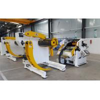 China Accuracy 0.05mm Autoamtic Metal Coil Decoiler + Straightener + Feeder For Car Accessories Industry wholesale